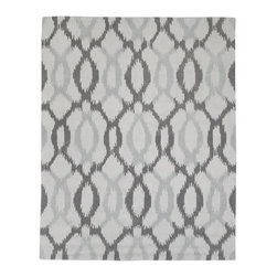 Ikat Links Rug - I love this Ikat rug from West Elm. It has the most beautiful gray color palette. This is a great way to softly add exotic flair to a more modern space.