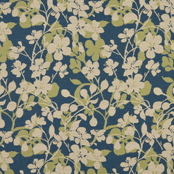 Beige Dark Blue Lime Green Floral Indoor Outdoor Upholstery Fabric By The Yard - P601010 is great for residential and commercial applications, and can be used outdoors and indoors. This fabric will exceed at least 35,000 double rubs (15,000 is considered heavy duty), and is easy to clean and maintain. In addition, this product is stain, water, mildew, bacteria and fade resistant. For superior quality and performance, this fabric is woven and solution dyed.