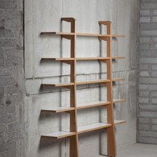 Contemporary Wall Shelves by horizon furniture