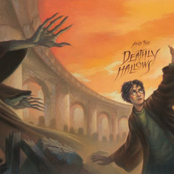"Clampett Studio Collections - Harry Potter: ""Harry Potter & The Deathly Hallows"" Giclee On Paper - Artist: Mary GrandPre"