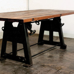 V3 Wood Dining Table - District 8.