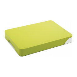 Cut & Collect Chopping Board, Green/White