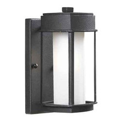 """Kenroy Home - Kenroy Home 92001 1 Light 10.375"""" Height Outdoor Wall Sconce Wall Sconce - 1 Light 10.375"""" Height Outdoor Wall Sconce Wall Sconce with Ceramic Socket from the Sentinel CollectionCrisp and Asian-inspired, this family of lanterns makes a great choice for lovers of modern design. Finished in Copper Bronze, with Opal White glass, Sentinel offers an inviting gateway to a contemporary home.Features:"""
