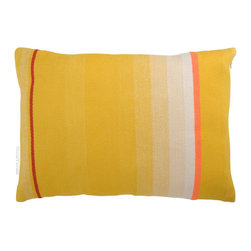 T.E. 040 CUSHION DARK YELLOW By Thomas Eyck - The T.E. 040 Cushion in dark yellow is super soft, and highly decorative for your living room or bed rooms. It is made with Marino wool and cotton.