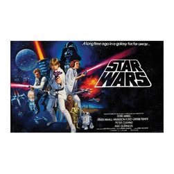 RoomMates - RoomMates Star Wars Classic Chair Rail Mural Multicolor - JL1217M - Shop for Wall Decorations from Hayneedle.com! About Roommates: Roommates a subsidiary of York Wallcoverings Inc creates some of the most versatile and unique wall decor you'll find. Their innovative wall decals feature a removable and endlessly reusable design allowing you to move and rearrange your decals as often as you like all without causing any damage to your walls or furnishings. This means you can apply them without worry or headache since you don't have to get the application perfect the first time. RoomMates work on any smooth surface and are particularly ideal for temporary decorating such as around the holidays. All RoomMates products are proudly made in the USA and are made from non-toxic materials so they're as safe for your kids and pets as they are for your walls.Please note this product does not ship to Pennsylvania.