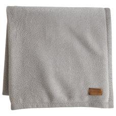 Contemporary Blankets by Peacock Alley Design Studio