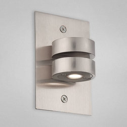 Eurofase Lighting - Eurofase Lighting 22530 Indoor In Wall Round Up & Down Light - Capture ideal elegance with this wall sconce. Make sure your style gets noticed with this grand wall sconce utilizing led bulbs.Features: