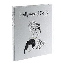Hollywood Dogs Saffiano Book - A perfect gift for film buffs, and for anyone that loves dogs.
