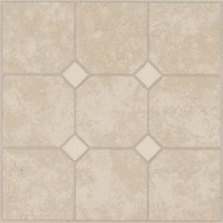 "Armstrong World Industries - Armstrong Units Self-Adhesive Floor Tile Beige Sand - Armstrong -- units, 0.045 gauge, 12"" x 12"" tile, vinyl no-wax wear layer, easy to clean, easy to install, self-adhering, 45 tiles per carton (45 sq. Ft. ), 1-year limited warranty. Color: sand."