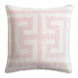 "Estate Blush Accent Pillow by Bassett Furniture - H 22"", W 22"", D 0"""