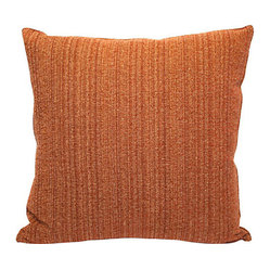 Rust Textured Pillow