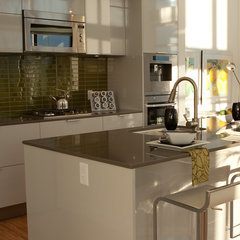 contemporary kitchen by Fluff Designs & Decor