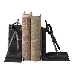 Joshua Marshal - Compass Bookends - Compass Bookends