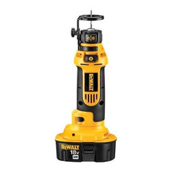 "Black & Decker - Dewalt - Dc550Ka 18V Cut Out Tool - H-D 18V CORDLESS CUT-OUT TOOL  Cuts holes in a variety of materials: drywall-  for boxes & outlets, acoustical tile, plywood-  and cabinets & light gauge non-ferrous metals  26,000 rpm motor for plenty of cutting power  Dust-sealed switch for durability & long life  Tool-free bit changes without using a wrench  Includes: 1-hour charger, (2) 18V XRP batteries,  2 cutting bits, 1/4"" & 1/8"" collets & kit box    DC550KA 18V CUT OUT TOOL"