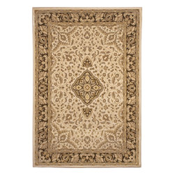 """Orian - Orian American Heirloom Avalon (Bisque) 3'11"""" x 5'5"""" Rug - American Heirloom Collection, Orian Rugs' flagship collection is inspired by classic, hand-woven oriental rugs that combine understated elegance with classic style. The 1.5 million point design construction is densely woven with Orian's finest-denier yarns creating unparalleled visual dimension and pin point design clarity."""