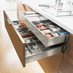 Blum Cabinet Hardware & Accessories - Premier full service interior design firm and kitchen & bath design showroom for designers and architects with a discerning eye, and for homeowners looking for something truly unique.