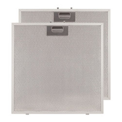 """Replacement Filter for 30"""" Fente Series Stainless Steel Under-Cabinet Range Hood - Replace aged filters in your 30"""" Fente Series Under-Cabinet Range Hood with this replacement set of aluminum filters. These filters are reusable and easy to install."""