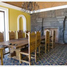 Tropical Floor Tiles by Original Mission Tile