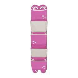 P'kolino - P'kolino Mess Eaters Hanging Organizer, Pink - Perfect Organization for Toys, Shoes, Art Projects and much more!