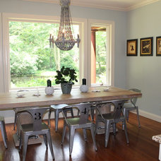 Eclectic Dining Room by Shawna Feeley Interiors