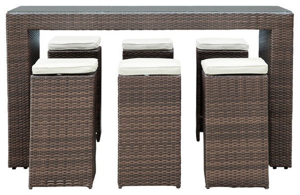 Contemporary Outdoor Pub And Bistro Sets by Contemporary Furniture Warehouse
