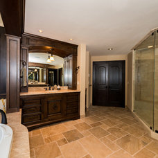 Traditional Bathroom by Wren & Willow Inc,