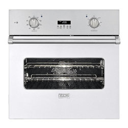 "Viking 30"" Single Electric Wall Oven, White 