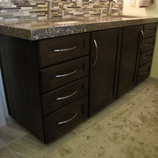 Bathroom Vanities And Sink Consoles by Solid Surfaces Unlimited