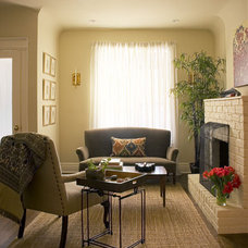 Eclectic Living Room by Meghan Carter Design Inc