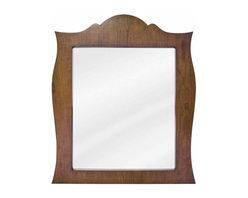 Lyn Design - Lyn Design French Regency 28 X 33 Golden Maple Mirror - Lyn Design French Regency 28 X 33 Golden Maple Mirror