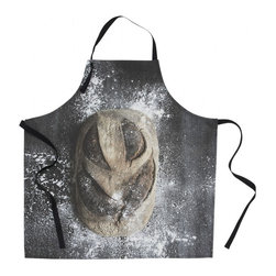 SNOKU - Kids' Apron, Bread - Apron with crusty bread print to inspire your little baker.