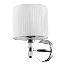 Iberlamp - Iberlamp C177-W1-WH Solal 1 Light Wall Sconce - Features: