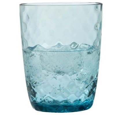 contemporary glassware by Target