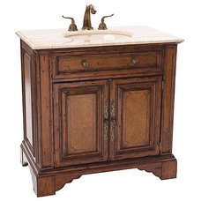 Traditional Bathroom Vanities And Sink Consoles by FRONTGATE