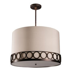 Astoria Drum Pendant by Stonegate Designs