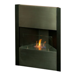 Cornetta Bio Ethanol Freestanding Fireplace - The Cornetta Bio Ethanol Freestanding Fireplace ensures that you and your guests will be enjoying incredible fire displays for years to come. Its stainless steel exterior enhances both this fireplace's durability and decorative elegance. With the simple addition of bio-ethanol fuel, prepare to sit back and enjoy the warmth of real, renewable, bio-flames. This fireplace will accent any room you put it in!
