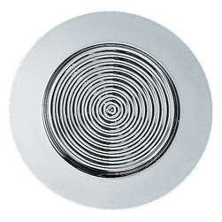 """Alessi - Alessi """"Sitges"""" Glassware Coaster, Set of 6 - Raise your glass — and not the coaster. With that said, this inventive coaster is still cause for celebration. Its concentric-circle design helps prevent it from sticking to the bottom of a wet glass. Hip, hip, hooray!"""