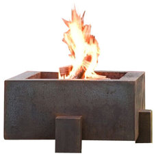 Contemporary Fire Pits by Home Infatuation
