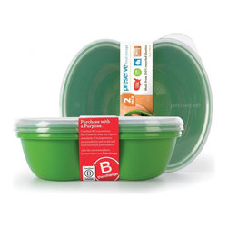 Sandwich Food Storage Container | Set of 2 - Preserve food storage containers are made in the USA from 100% BPA free, recycled #5 plastic, dishwasher safe and stand up to everyday use. The Preserve Sandwich Food Storage holds 25 oz. and is perfect for leftovers, salads and sandwiches. Containers feature a snap-on lid and are stackable for easy storage. This 2-pack includes two containers and two lids.