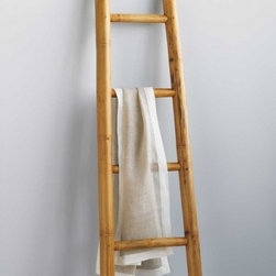 Bamboo Ladder - This tropical-inspired ladder would make such a fun (and functional!) accessory in any space. Hang big white towels on it to make your bath feel more like a spa, or use it to display your collection of colorful scarves in your bedroom. And bonus: its small footprint makes it great for small spaces.