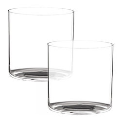 Riedel - Riedel O Water Glasses - Set of 2 - This attractive lightweight glass is a fashionable alternative to our stemmed water glasses. non lead, machine made.