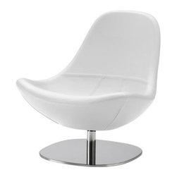 Carl Öjerstam - TIRUP Swivel chair - Swivel chair, Kavat white