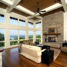 Traditional Living Room by LS3P | Neal Prince Studio