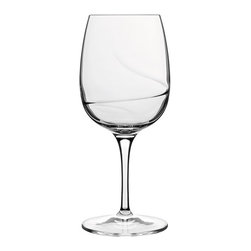 Luigi Bormioli - Luigi Bormioli Aero 7.25 oz. White Wine Glasses - Set of 6 - 10938/01 - Shop for Drinkware from Hayneedle.com! Expert design and elegant craftsmanship make these Luigi Bormioli Aero 7.25 oz. White Wine Glasses - Set of 6 a perfect addition to your home s bar and glassware collection. The six white wine glasses were constructed with a spiral optic on the inside of their bowls which allows for fast aeration and an added enhancement of your wine s aromas and flavors. The glass is completely lead-free and break resistant with reinforced titanium stems that add both style and dependable structure. Featuring fine rims and drawn stems the glasses are dishwasher safe.About Luigi BormioliFounded in 1946 by Mr. Luigi Bormioli himself the Bormioli family continues Luigi s mission of commitment to great design traditional Italian craftsmanship and new innovative glassmaking technology to produce the world s most beautiful and durable glassware. Producers of wine glasses tumblers decanters and everything in between Luigi Bormioli is located in Parma Italy halfway between Bologna and Milan and is influenced by the region s reputation for art music and higher learning. Bormioli s glassmaking construction rivals fine crystal in its appearance but is 100-percent lead-free affordable and widely available.Attention California Residents - Proposition 65 Warning: Consuming foods or beverages that have been kept or served in leaded crystal products or handling products made of leaded crystal will expose you to lead a chemical known to the State of California to cause birth defects or other reproductive harm.