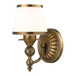 Elk Lighting - Smithfield 1-Light Bath in Aged Brass - Smithfield Collection 1 light bath in aged brass