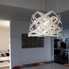 Contemporary Dining Room by luján + sicilia