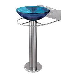 """Decolav - Decolav 8"""" Pedestal Faucet Stand - Decolav 8"""" Pedestal Faucet Stand"""
