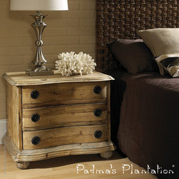 Padma's Plantation Salvaged Wood Night Stand - Padma's Plantation Salvaged Wood Night Stand