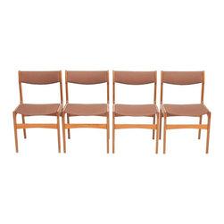 Unknown - Consigned Mid Century Danish Modern Erik Buck Teak Dining Chairs - • Mid Century Danish Modern