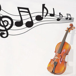 ColorfulHall Co., LTD - Large Wall Decals Music Life - Large Wall Decals Music Life